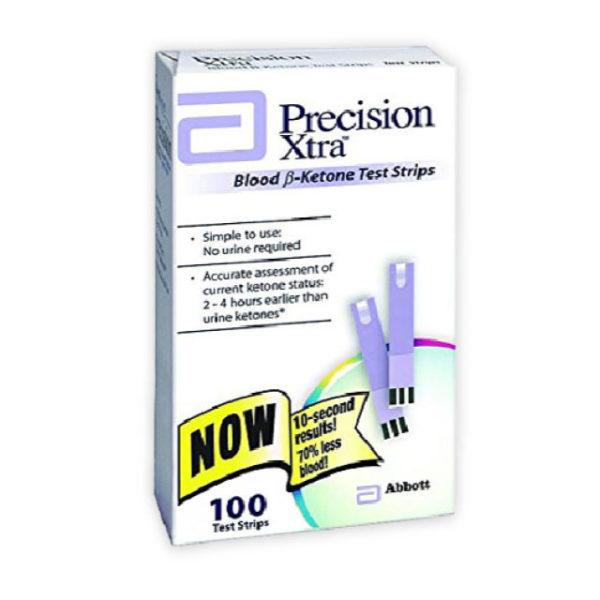 Freestyle Precision Xtra Ketosistools 50 pack blood ketone strip beta hydroxybutyrate